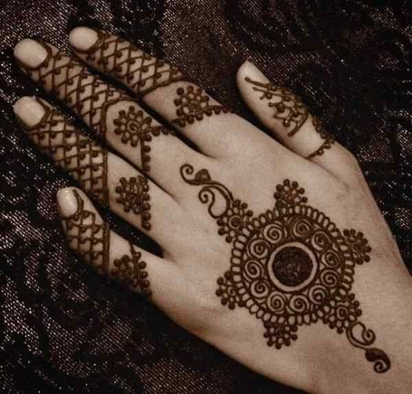 New Traditional Circle Mehndi Designs For Eid | Fashion | Pinterest | Mehndi Designs Mehndi And ...