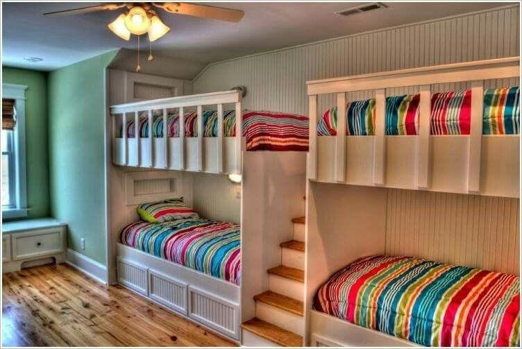 Great Idea For Grandparents House Modern Bunk Beds Bunk Beds Kids Bunk Beds