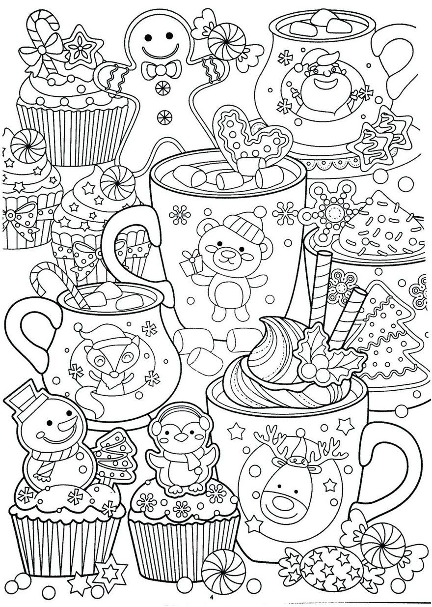 Free Printable Christmas Cards New Year Coloring Pages Christmas Coloring Sheets Coloring Pages