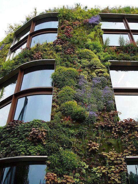 Jardín Vertical - París | Favorite Places & Spaces | Pinterest ...