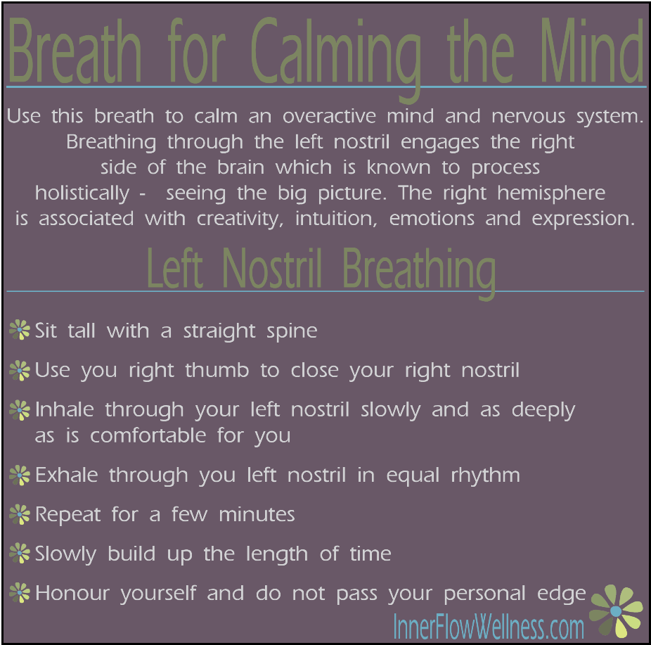 Pranayama For Calming The Mind Nervous System Yoga Anxiety