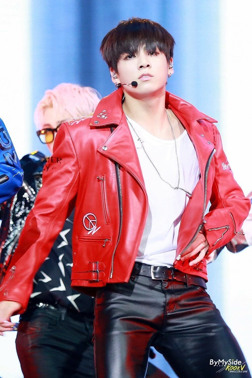 Pin By Jiminluv On Jungkook 2015 Leather Jacket Men Leather Jacket Young Fashion [ 1500 x 1000 Pixel ]