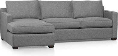 Davis Collection 2 Piece Sectional Sofa Sectional Sectional Sofa