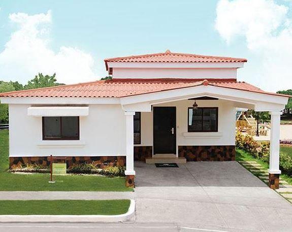fachadas de casas de un solo piso modelo de casa 1nivel