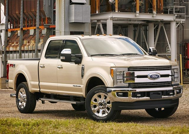 The 2017 Ford F 250 Super Duty Pickup Truck Is Fourth Generation Heavy Version Manufactured By This New Was First