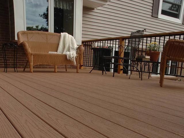 weather resistant wood plastic  floor ,exterior zero maintenance floors #wood #plastic #composite #floor