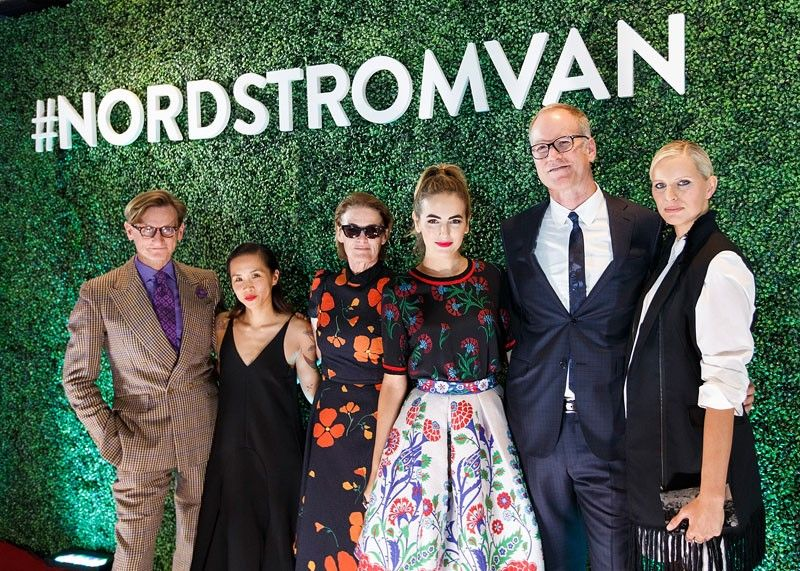 We go inside Nordstrom's opening night in Vancouver: Coco Rocha, Camilla Belle and more!