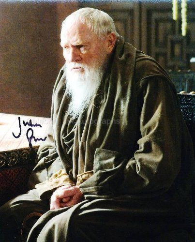 JULIAN GLOVER as Grand Maester Pycelle - Game Of Thrones Genuine Autograph