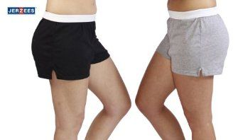 Jerzees Juniors Pack of 2 womens gym/running/yoga/cheer shorts. http://todaydeals.me/viewdetail.php?asin=B007MD33GG