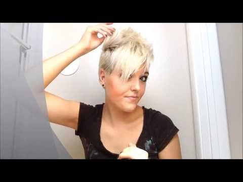 How to style really short pixie hair