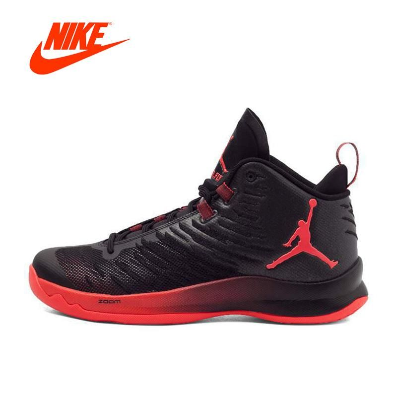 21ebbea2fdfd23 Original New Arrival Authentic NIKE SUPER.FLY 5 X Men s Breathable  Basketball Shoes Sneakers Non-slip sport shoes
