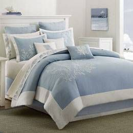 amazing baby blue bed - Google Search