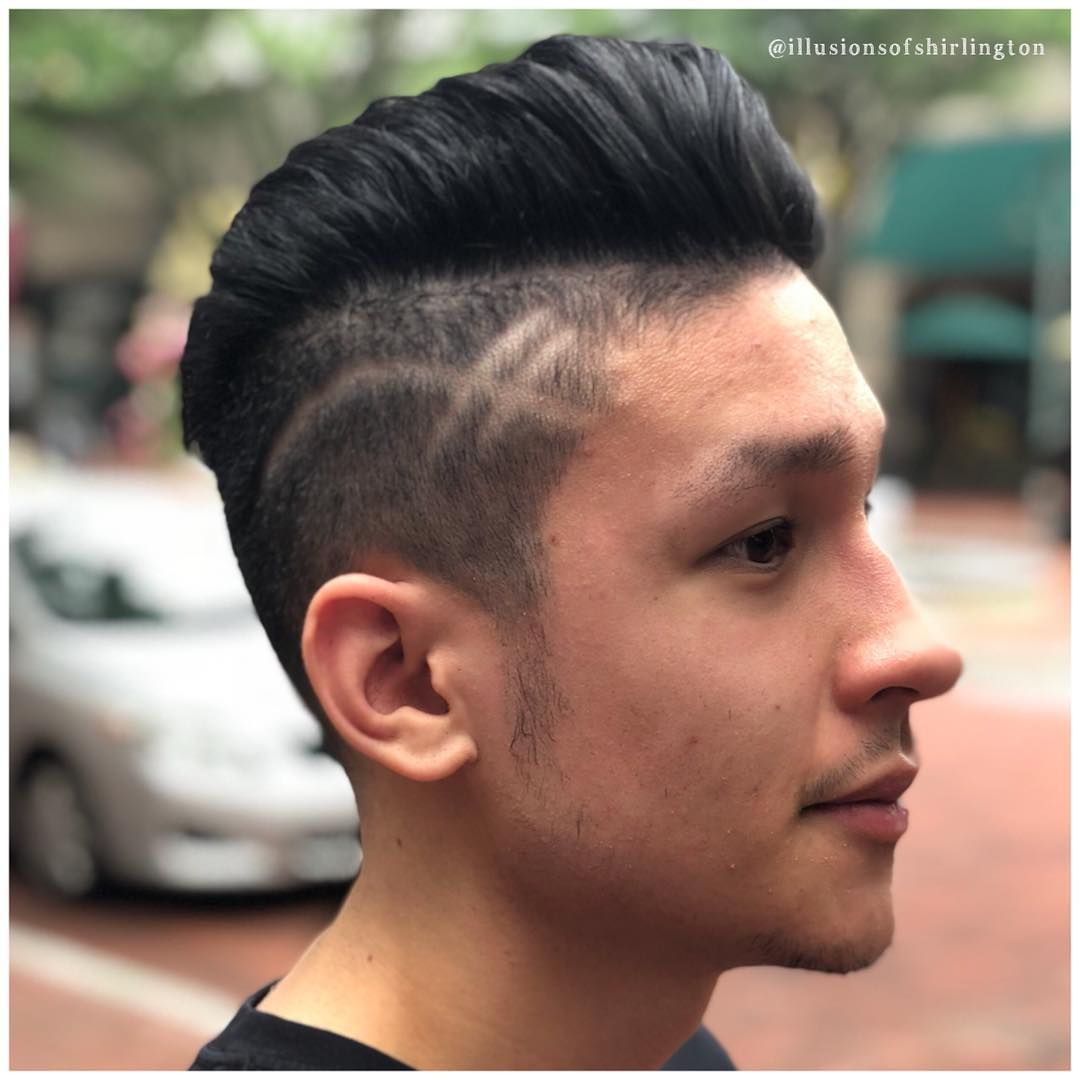 Cool summer fade menus cut design and style by ucjohn