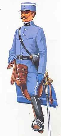 uniforme du gendarme cheval de la grande guerre pin by paolo marzioli wwi clothing. Black Bedroom Furniture Sets. Home Design Ideas