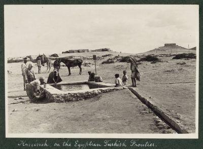 Kuseimeh on the Egyptian Turkish frontier, 1916.