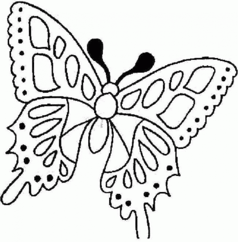 Butterfly coloring page image by Crystal Schroth on bugs ...