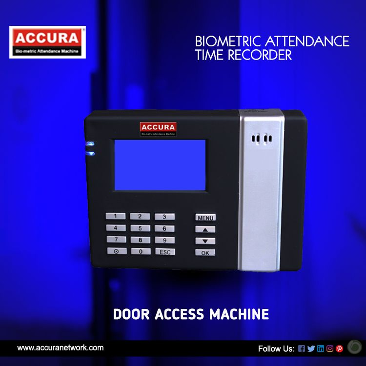 Product Specification 👉 Biometric Machine Is Easy To