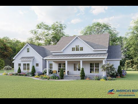 House Plan 8318 Modern Farmhouse Plan 2 031 Square Feet 3 Bedrooms 2 5 Bathrooms