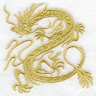 RP: Machine Embroidery: Myth of the Dragon