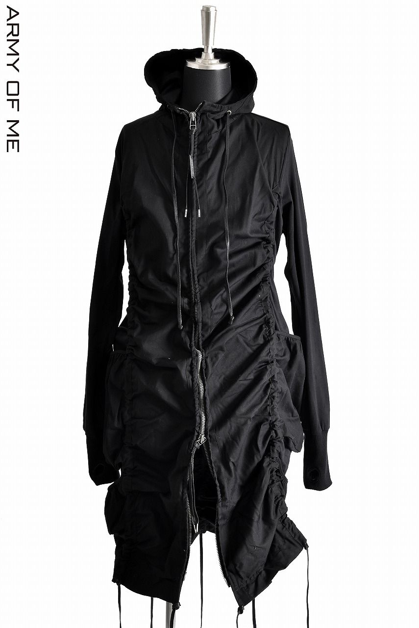 ARMY OF ME CONTRAST PARKA JACKET 17156