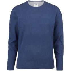 Photo of Olymp Level Five Strick Pullover, body fit, Rauchblau, Xxl Olymp