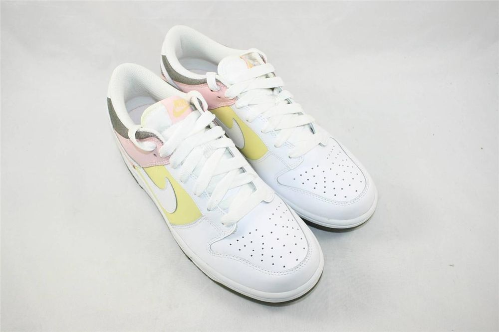 Brand New Nike Womens Dunk Low Size 10 White Lemon Coral 317813 112  Nike   Athletic 601ac2fcb7