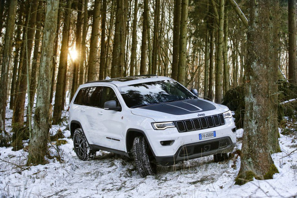Jeep Grand Cherokee IV (WK2 facelift 2017) Jeep grand