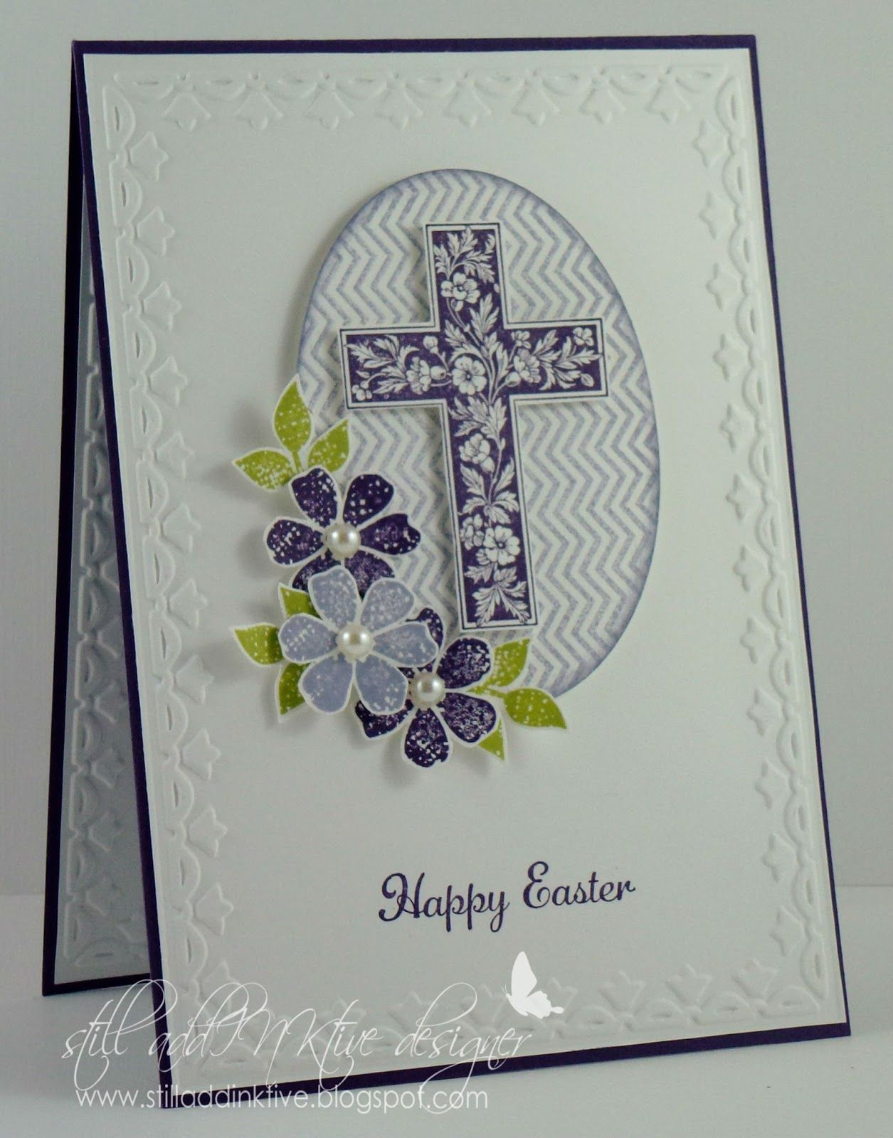 Cats inkcorporated su easter card crosses of hope