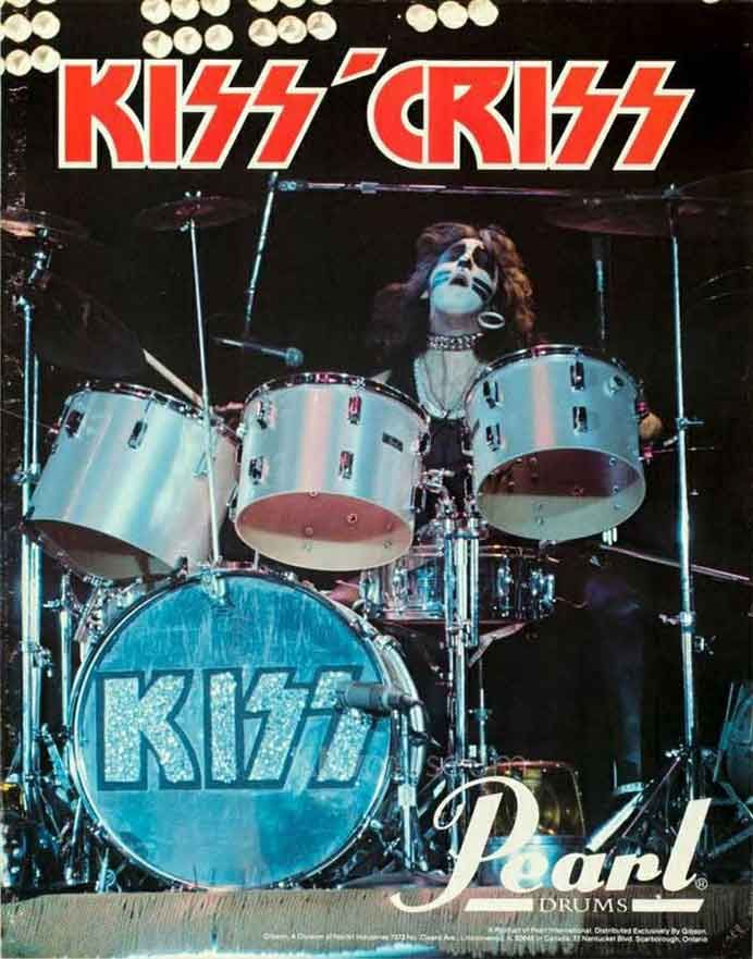 Peter Criss Pearl Promo 1975