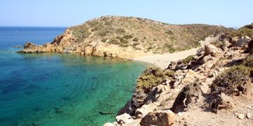 de zee van kreta