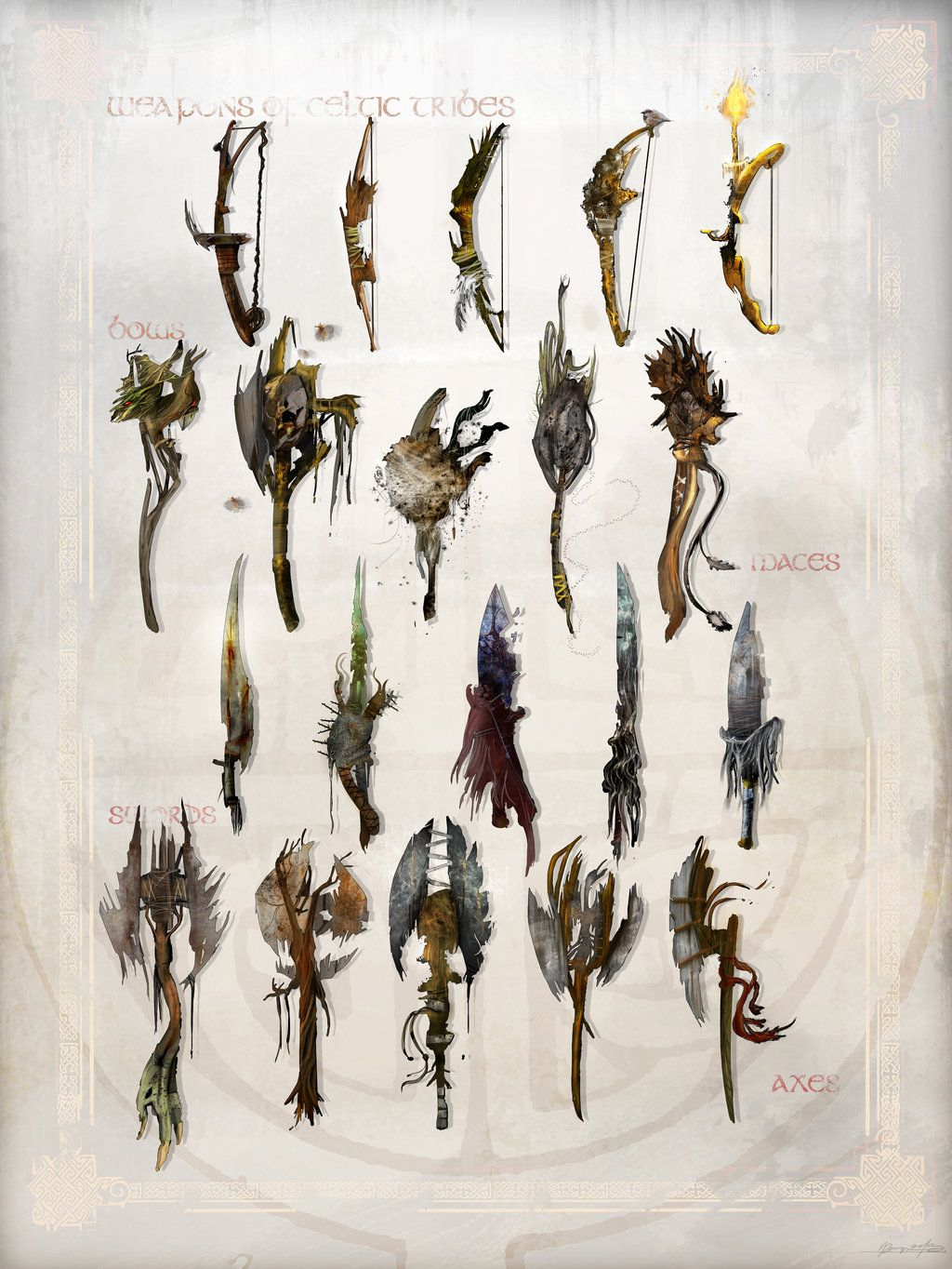 Fantasy Celtic Weapons by Stolarz123.deviantart.com on @deviantART ...