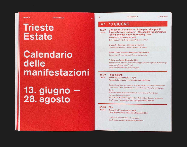 Trieste Estate on Behance