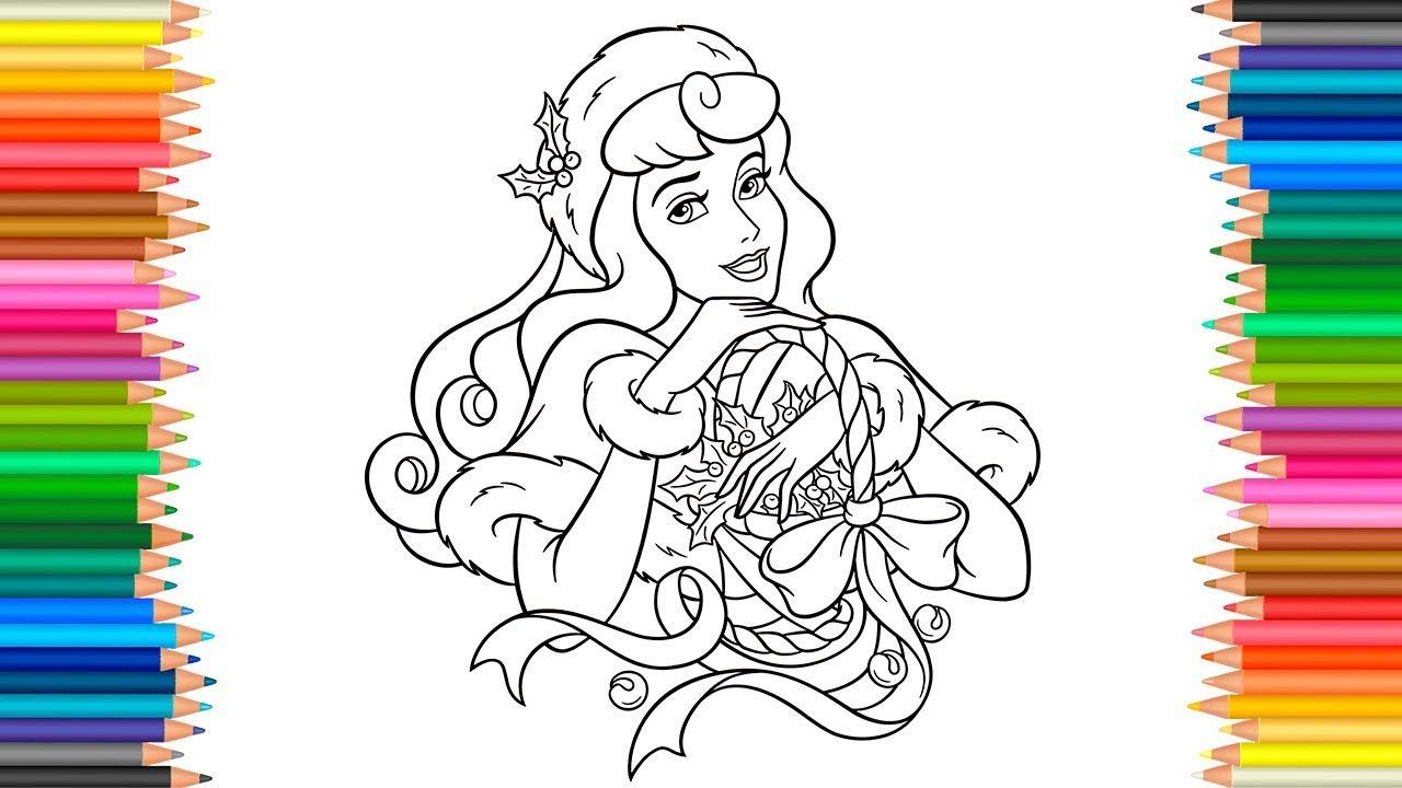 Aurora Disney Princess Coloring Page L Coloring Book