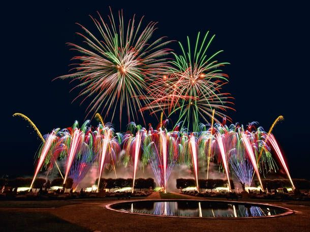 Feuerwerk In Den Herrenhauser Garten Feuerwerk Veranstaltung Hannover