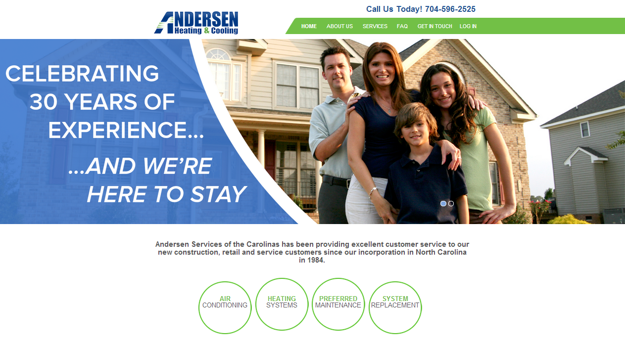 Andersen Heating And Cooling Heating Air Conditioning Heating
