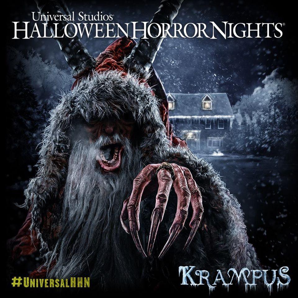 Krampus is Coming to Universal's Halloween Horror Nights
