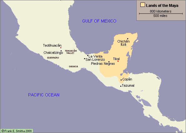 Map mesoamerica and the maya history odyssey middle ages map mesoamerica and the maya gumiabroncs Images