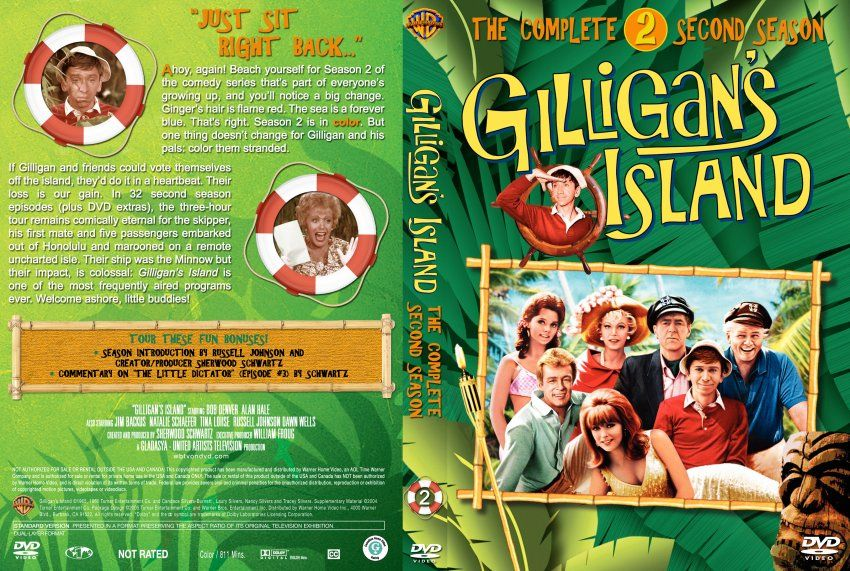 Gilligans Island Gilligans Island Season 2 Tv Dvd