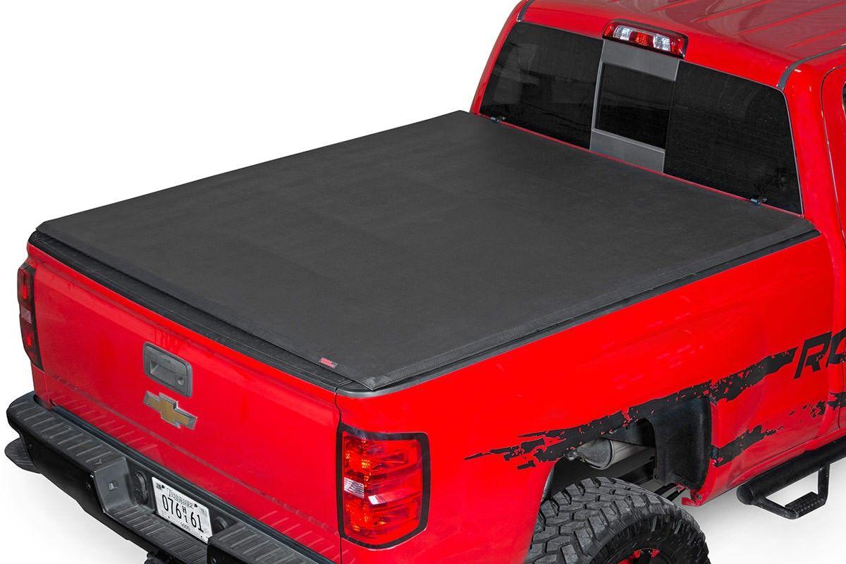 Gm Economy Soft Tri Fold Bed Tonneau Cover 14 15 Silverado Sierra 1500 5 5 Bed W O Cargo Mgmt D C Tonneau Cover Tri Fold Tonneau Cover Bed Covers
