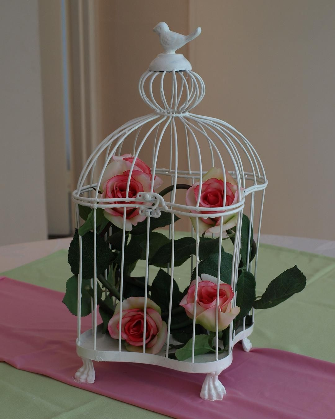 Wedding decor images zimbabwe  myfavouritethings wedding decor zimbabwe birdcage rose pink