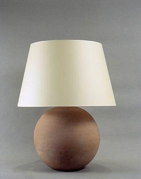 Geometric Lamp Terre Cuite Idees Pour La Maison Lampe Boule