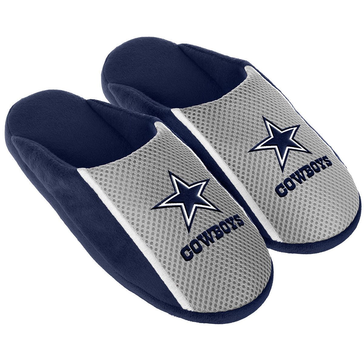 2e567171 Slippers 163550: Pair Dallas Cowboys Jersey Slide Slippers - Team ...
