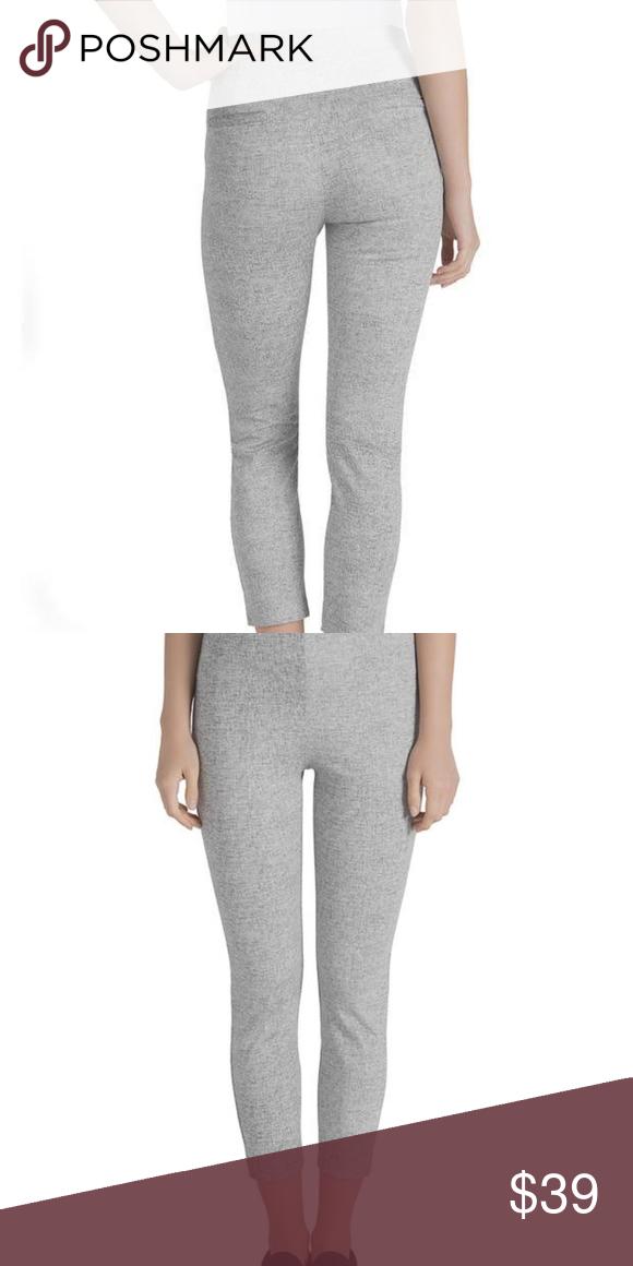f32ffc5527769d Lysse Macklin Cigarette Pants Gray Space Dye Lysse ankle cropped capri  leggings. Stretchy, yet