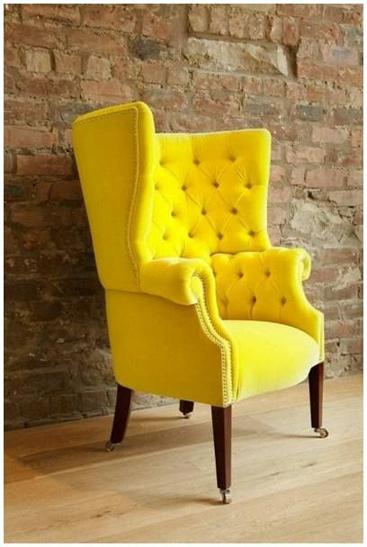 Superbe Now It Is Time For New Vibe With Mustard Yellow Accent Chair Will , The Mustard  Yellow Accent Chair Will Dramatically Change Your Home Look.