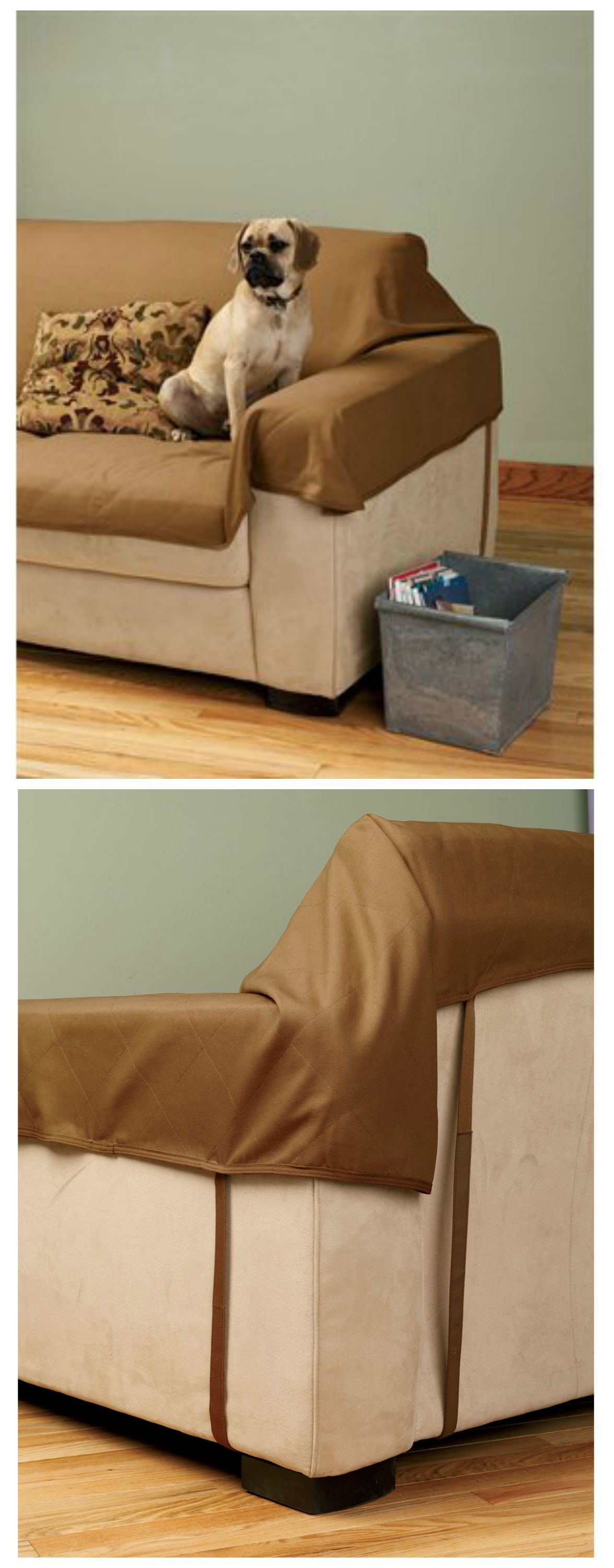 Our Fire Hose Furniture Saver is the sofa cover that keeps your