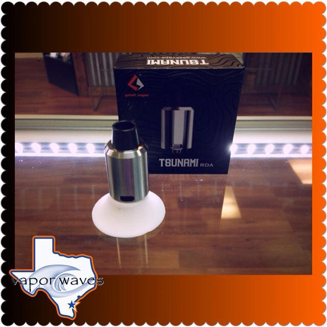 Tsunami RDA back in stock!!! Come in today and pick up this hard hitter!!! #breatheinvapeout #rebuilds #cloudsfordays