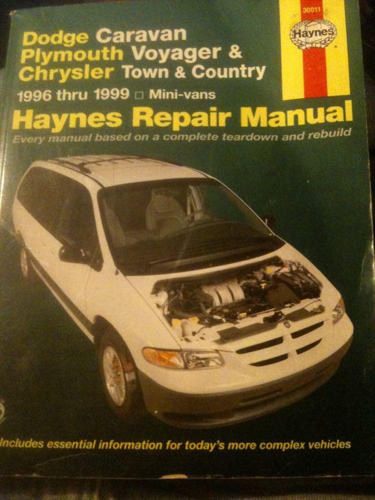 haynes repair manual dodge caravan plymouth voyager chrysler mini rh in pinterest com 1999 dodge caravan repair manual pdf 1999 dodge ram van service manual pdf