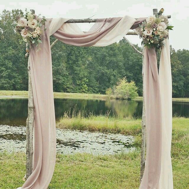 Ceremony arch simple blush look ceremony details pinterest ceremony arch simple blush look junglespirit Image collections