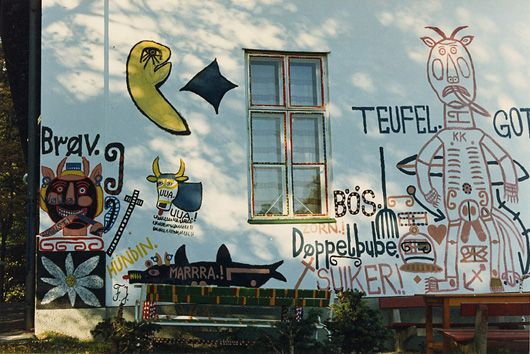 Haus der Künstler (house of artists) at the Gugging