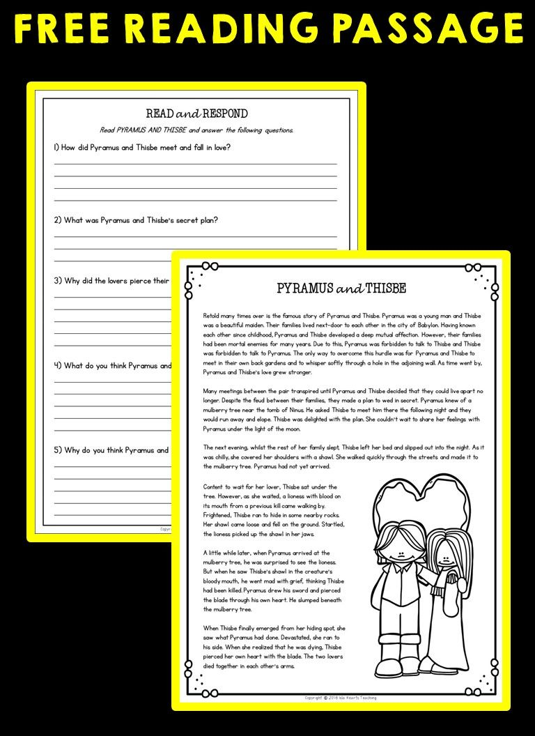 Free Reading Passage Free Reading Passages Reading Worksheets 6th Grade Reading Reading comprehension practice 6th